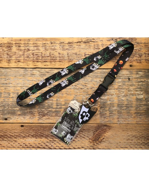 MEDIEVIL - SIR DANIEL FORTESQUE DAN-HAND AND ICONS LANYARD BY TOTALLY TUBULAR