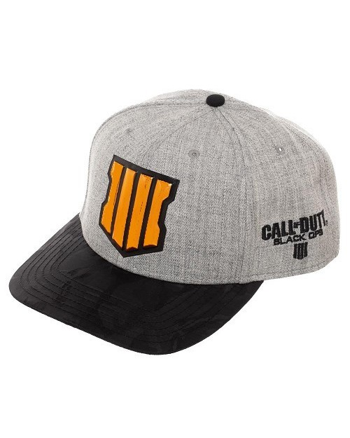 OFFICIAL CALL OF DUTY: BLACK OPS IIII (4) PRE-CURVED SNAPBACK CAP