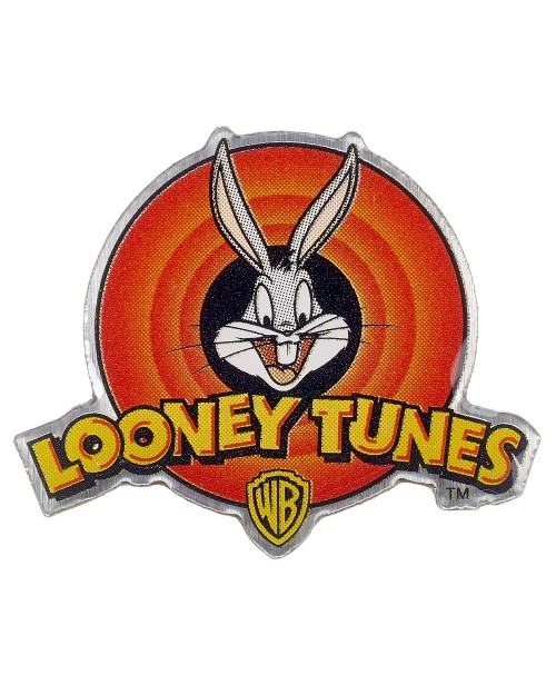OFFICIAL LOONEY TUNES - LOGO PIN BADGE