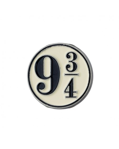 OFFICIAL HARRY POTTER PLATFORM 9 3/4 PIN BADGE