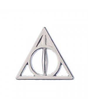 OFFICIAL HARRY POTTER DEATHLY HALLOWS SYMBOL PIN BADGE