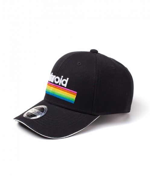 OFFICIAL POLAROID COLOURS BLACK BASEBALL CAP SNAPBACK CAP