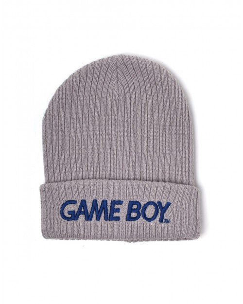 OFFICIAL NINTENDO - GAME BOY LOGO GREY CUFFED BEANIE