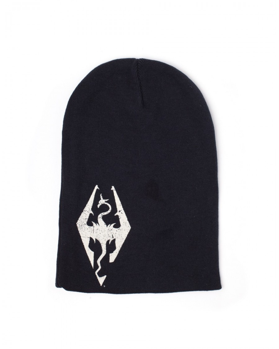 OFFICIAL THE ELDER SCROLLS V (5): SKYRIM - DRAGONBORN SYMBOL BLACK BEANIE