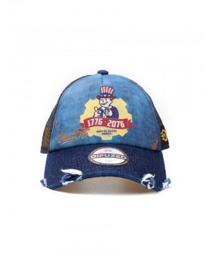 OFFICIAL FALLOUT 76 - TRICENTENNIAL EDITION TRUCKER BASEBALL SNAPBACK CAP