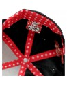 OFFICIAL DISNEY - MINNIE MOUSE EARS AND BOW BLACK SNAPBACK CAP