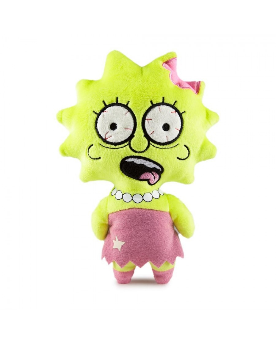 THE SIMPSONS - LISA PHUNNY PLUSH CUDDLY TOY BY KIDROBOT