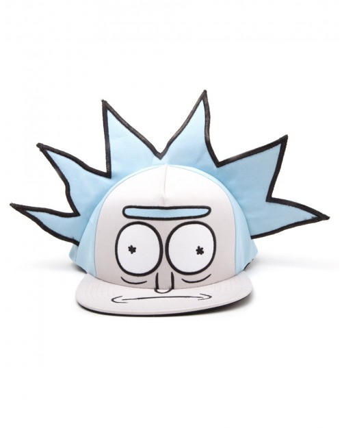OFFICIAL RICK AND MORTY - RICK FACE COSTUME STYLED SNAPBACK CAP