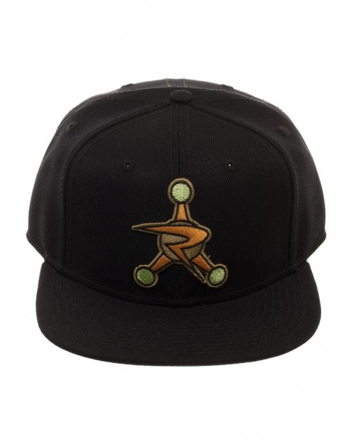 OFFICIAL RICK AND MORTY - COUNCIL OF RICKS LOGO BLACK SNAPBACK CAP