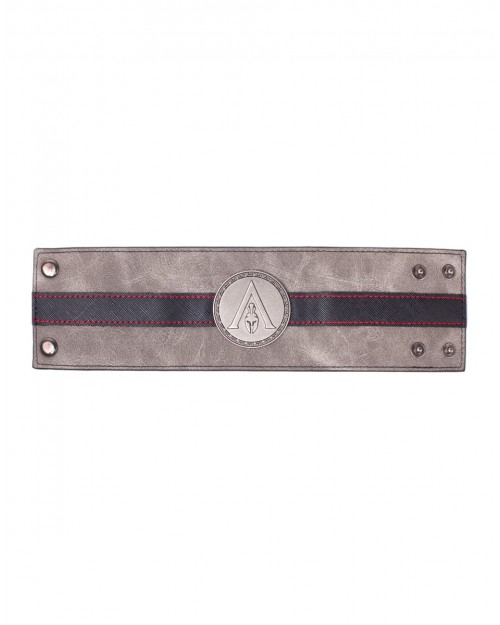 ASSASSIN'S CREED ODYSSEY METAL SYMBOL GREY CUFF BRACELET
