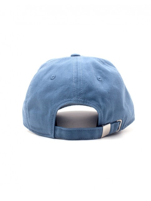 OFFICIAL RUBIKS CUBE BLUE STRAPBACK BASEBALL CAP 'DAD HAT'