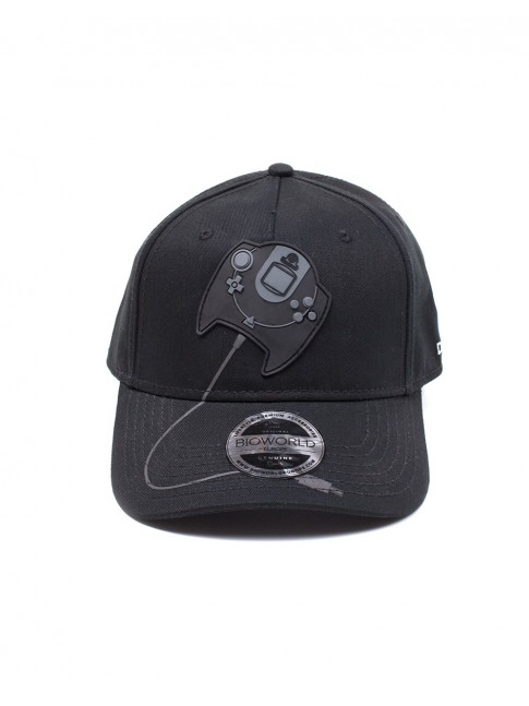 OFFICIAL SEGA DREAMCAST CONTROLLER RUBBER PATCH BLACK SNAPBACK BASEBALL CAP