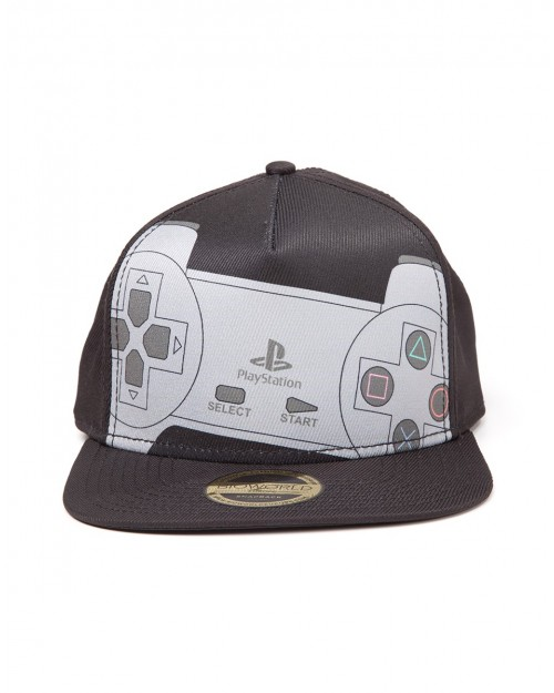 OFFICIAL SONY - CLASSIC PLAYSTATION CONTROLLER BLACK SNAPBACK CAP
