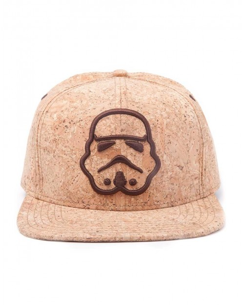 OFFICIAL STAR WARS STORMTROOPER OUTLINE CORK SNAPBACK CAP
