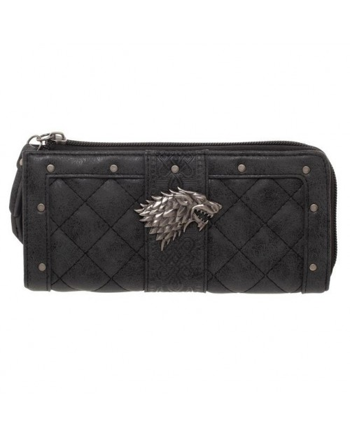 OFFICIAL GAME OF THRONES - STARK LOGO CLUTCH COIN PURSE