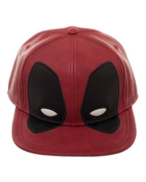 OFFICIAL MARVEL COMICS DEADPOOL EYES PU SNAPBACK CAP