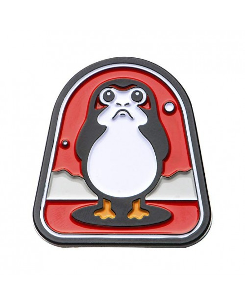 OFFICIAL STAR WARS - PORG BACKGROUND METAL ENAMEL PIN BADGE