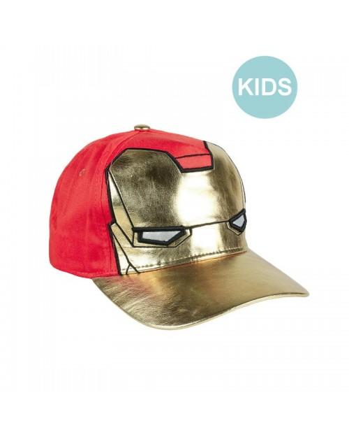 MARVEL COMICS - IRON MAN COSTUME STYLE SNAPBACK BASEBALL CAP [KIDS]