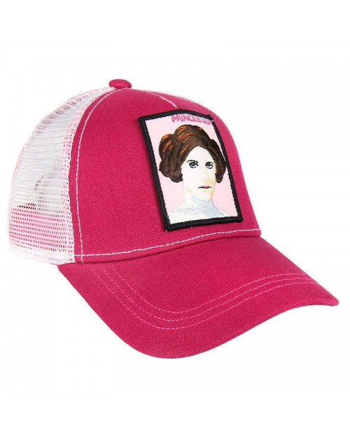 OFFICIAL STAR WARS - PRINCESS LEIA PATCH SNAPBACK TRUCKER BASEBALL CAP