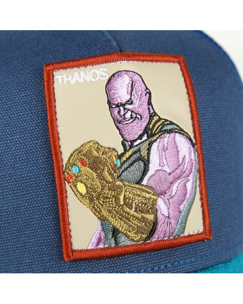 OFFICIAL MARVEL COMICS INFINITY WAR - THANOS PATCH SNAPBACK TRUCKER BASEBALL CAP