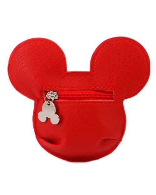 OFFICIAL DISNEY - MICKY MOUSE FACE PRINTED COIN PURSE