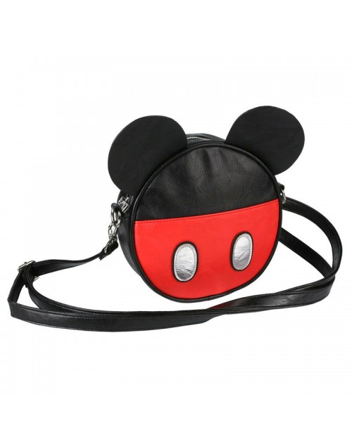 OFFICIAL DISNEY MICKEY MOUSE EARS COSTUME STYLED ROUND MINI SHOULDER BAG