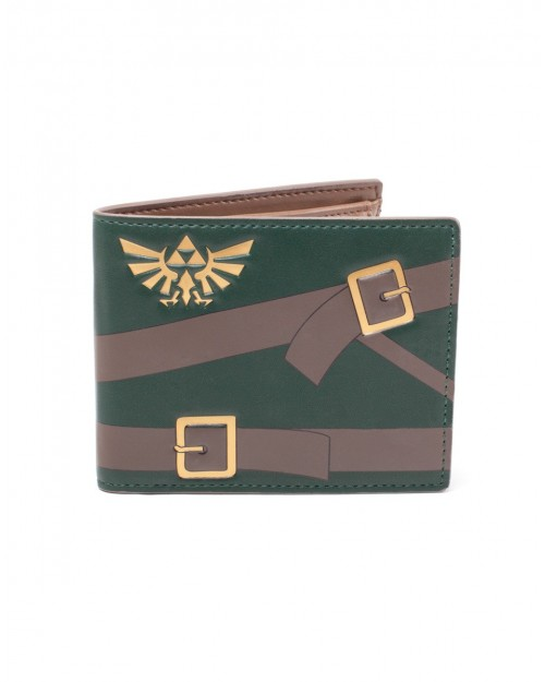 OFFICIAL NINTENDO - THE LEGEND OF ZELDA - LINK COSTUME BI-FOLD WALLET