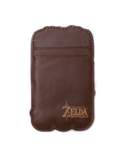 OFFICIAL NINTENDO - THE LEGEND OF ZELDA LINK SHEIKAH SLATE CARD HOLDER