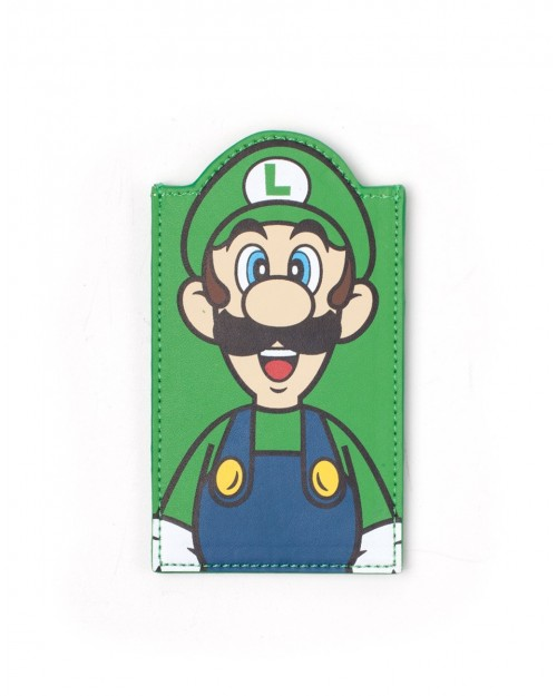OFFICIAL NINTENDO - SUPER MARIO BROS LUIGI CARD HOLDER