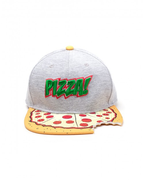 TEENAGE MUTANT NINJA TURTLES 'PIZZA' BITE SNAPBACK CAP