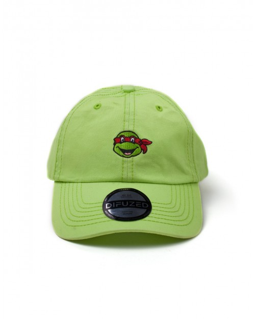 TEENAGE MUTANT NINJA TURTLES RAPHAEL GREEN STRAPBACK BASEBALL CAP 'DAD HAT'