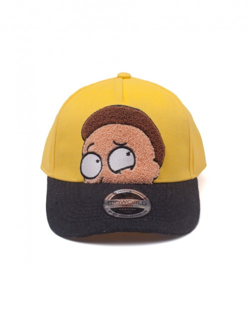 OFFICIAL RICK AND MORTY - MORTY CHENILLE STYLED CURVED SNAPBACK BASEBALL CAP