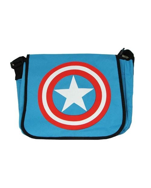 COOL CAPTAIN AMERICA MESSENGER BAG
