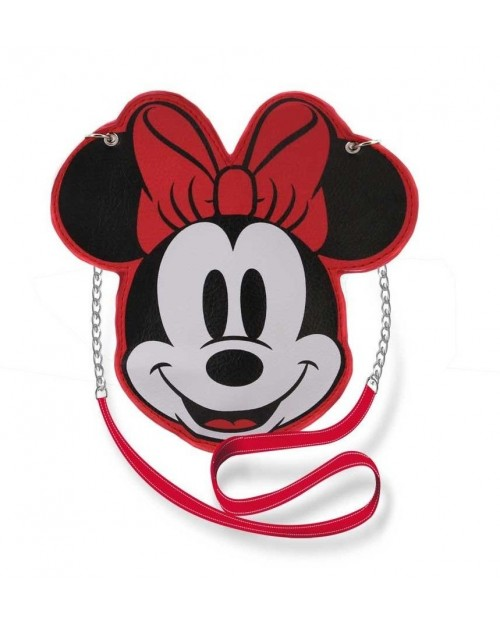 OFFICIAL DISNEY MINNIE FACE MINI SHOULDER BAG