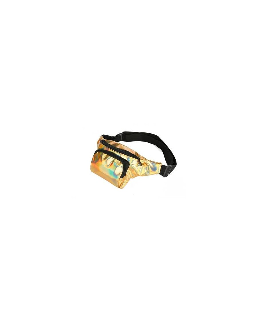 GOLD HOLOGRAPHIC BUM BAG (FANNY PACK)