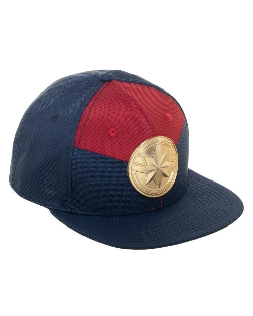 MARVEL COMICS - CAPTAIN MARVEL CREST SNAPBACK CAP