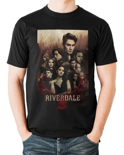 OFFICIAL ARCHIE COMICS - RIVERDALE SOUTHSIDE SERPENTS BLACKT-SHIRT