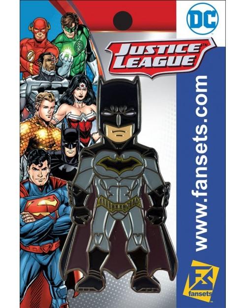 OFFICIAL DC COMICS - BATMAN (REBIRTH) FANSET METAL PIN BADGE