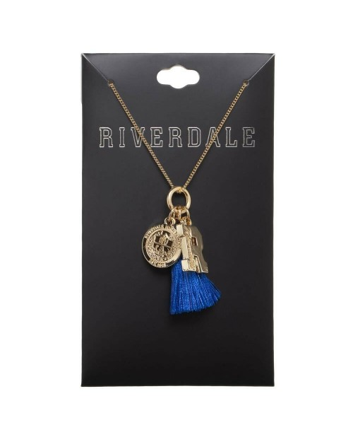 OFFICIAL ARCHIE COMICS RIVERDALE - RIVERDALE HIGH SCHOOL CHARM NECKLACE