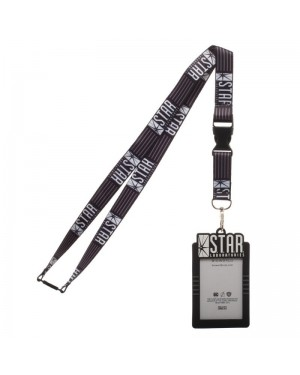 OFFICIAL DC COMICS - THE FLASH - STAR LABORATORIES ID SLEEVE LANYARD