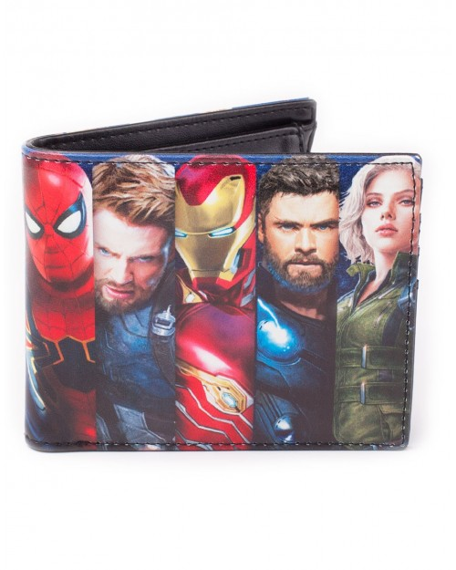 OFFICIAL AVENGERS: INFINITY WAR CHARACTERS PRINTED BI-FOLD WALLET