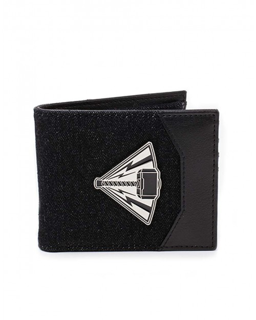 OFFICIAL MARVEL - THOR: RAGNAROK METAL HAMMER BLACK BI-FOLD WALLET