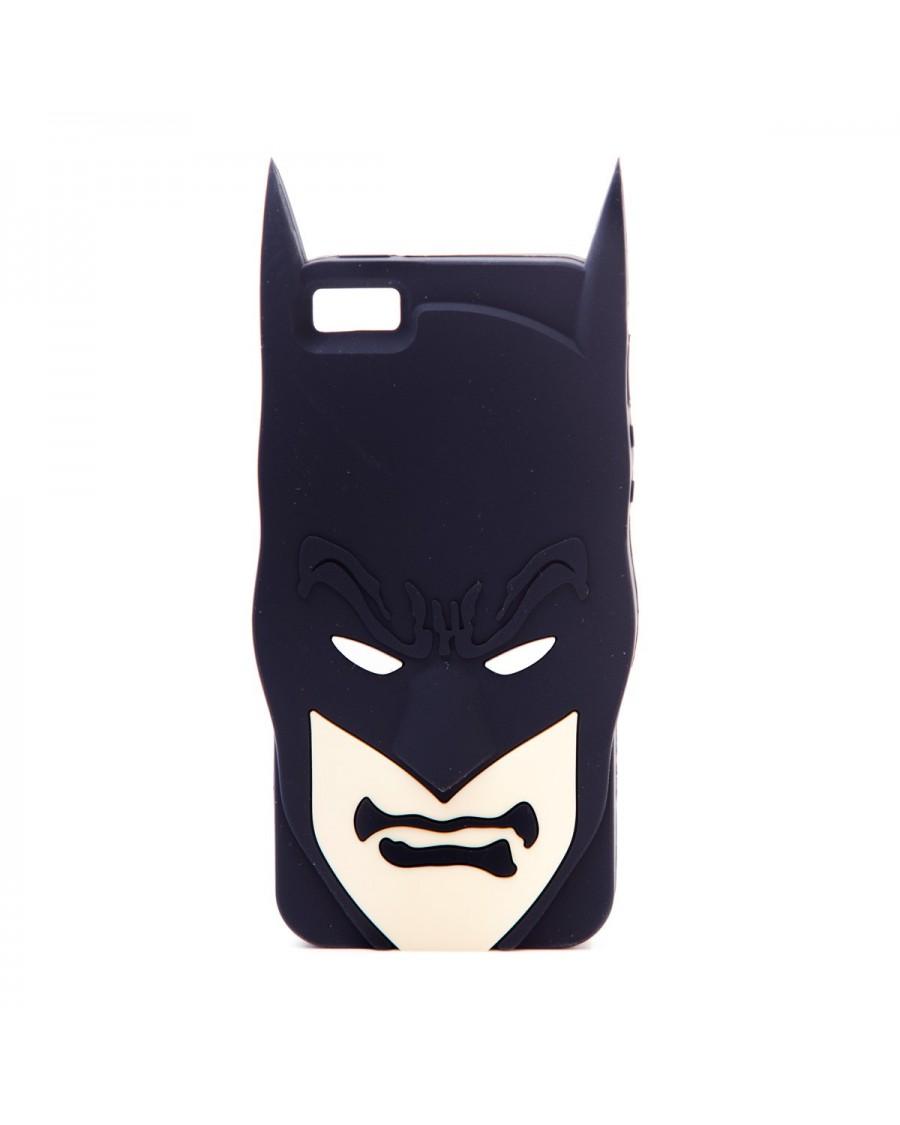 BATMAN CLOSE UP FACE RUBBER IPHONE 5 CASE