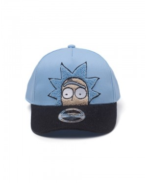 OFFICIAL RICK AND MORTY - RICK CHENILLE STYLED CURVED SNAPBACK BASEBALL CAP