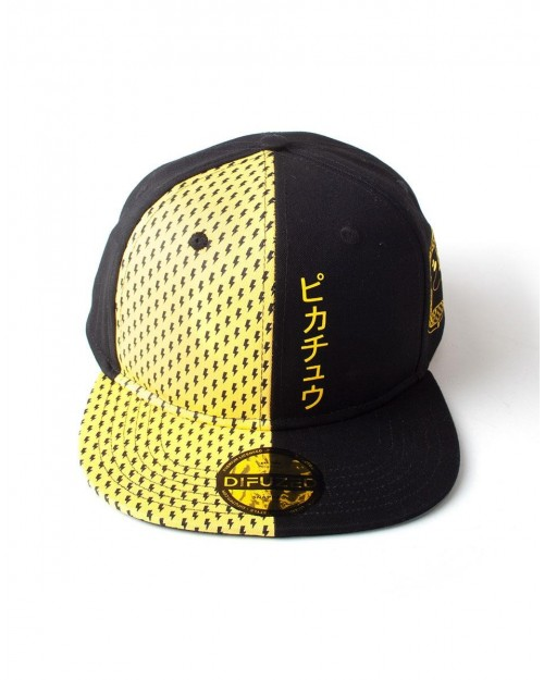 OFFICIAL NINTENDO - POKEMON PIKACHU PRINTED STREET STYLED SNAPBACK CAP