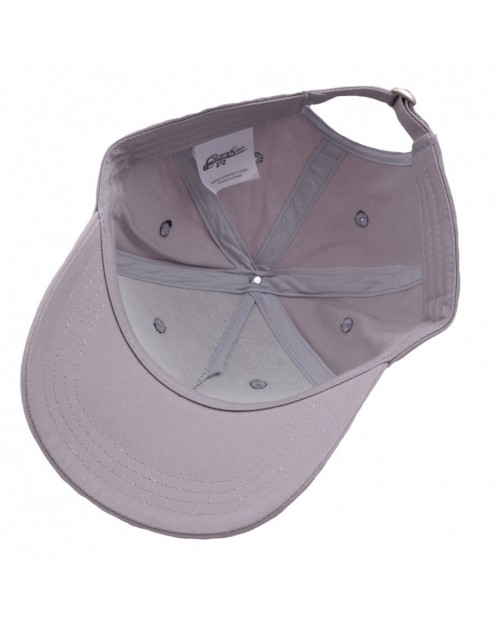 CARBON 212 - GREY STRUCTURED CURVED BASEBALL CAP