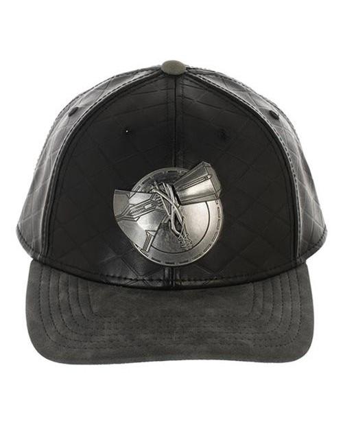 MARVEL COMICS - AVENGERS: ENDGAME THOR STORMBREAKER BLACK BASEBALL SNAPBACK CAP