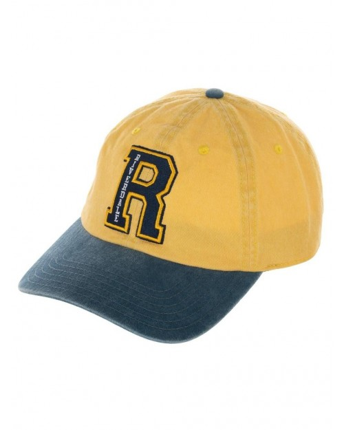 OFFICIAL ARCHIE COMICS RIVERDALE R LOGO YELLOW BASEBALL STRAPBACK CAP