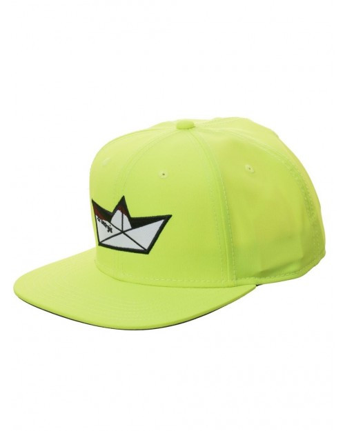 OFFICIAL IT PENNYWISE SS GEORGIE FLUORESCENT YELLOW SNAPBACK CAP