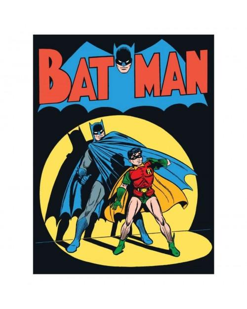 OFFICIAL DC COMICS BATMAN JIM LEE DESIGN PRINT BLACK T-SHIRT